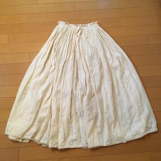 エージープラス(a.g.plus)のスカート(ロングスカート)