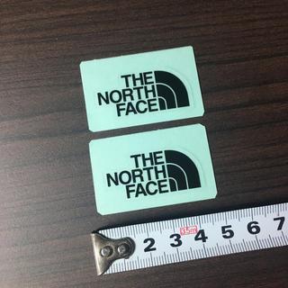 ザノースフェイス(THE NORTH FACE)のノースフェイス ステッカー  2点 ⁑ ミニロゴ ブラック!!(その他)
