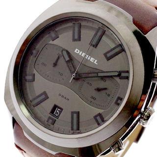 DIESEL - ディーゼル DIESEL 腕時計 メンズ クォーツ ダークグレー ダークブラウン