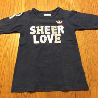 ベルメゾン(ベルメゾン)のGITA 七分袖Tシャツ 130cm(Tシャツ/カットソー)