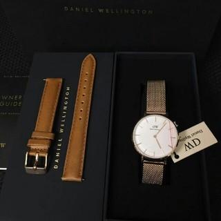 ダニエルウェリントン(Daniel Wellington)のDW 人気アイテム セット 時計とベルト 32ミリ 00100163 (腕時計)