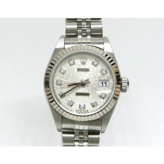 ロレックス(ROLEX)のロレックス デイトジャスト 79174G 10P コンピューター K番 新J P(腕時計)