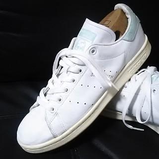 アディダス(adidas)の 絶対王道!アディダススタンスミス高級レザースニーカー人気の白!   (スニーカー)