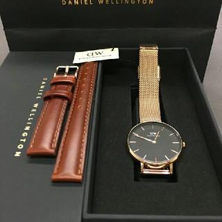 ダニエルウェリントン(Daniel Wellington)の【32㎜】ダニエル ウェリントン腕時計DW00100161(腕時計)