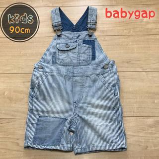 babyGAP - babyGAP  ショート丈 オーバーオール サロペット