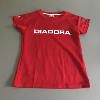 DIADORA - ディアドラ プラクティス Tシャツ レディース