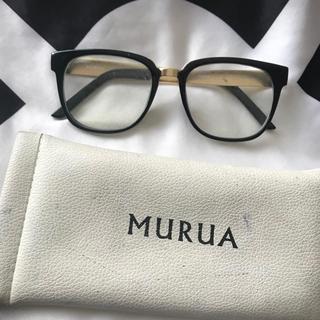 MURUA - ムルーア  伊達眼鏡