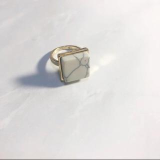 新品 大理石デザイン マーブル リング(リング(指輪))