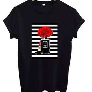 シャネル(CHANEL)の貴重S黒CHANELボーダーTシャツ(Tシャツ(半袖/袖なし))