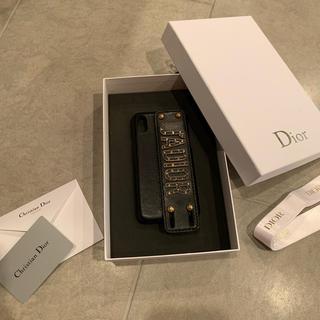 ディオール(Dior)の大人気!DIOR JADior iPhone XSレザーカバー(iPhoneケース)