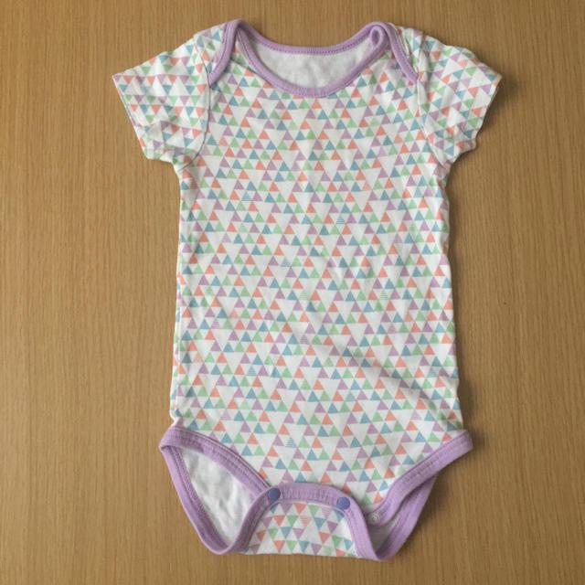 babyGAP(ベビーギャップ)のロンパース  3枚セット 80 キッズ/ベビー/マタニティのベビー服(~85cm)(ロンパース)の商品写真