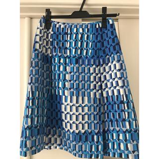 ミッシェルクラン(MICHEL KLEIN)の新品未使用✨ MICHEL KLEIN スカート(ひざ丈スカート)