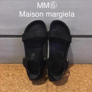 マルタンマルジェラ(Maison Martin Margiela)のMM⑥ マルジェラ 23.5cm(サンダル)