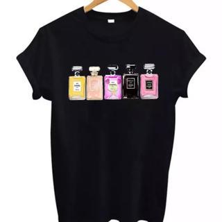 シャネル(CHANEL)のSサイズCHANELフレグランスいっぱいTシャツ(Tシャツ(半袖/袖なし))