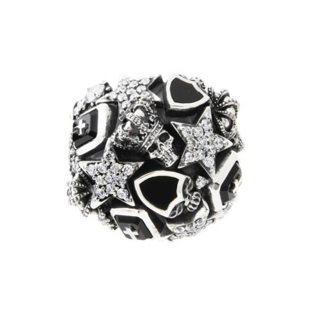 Justin Davis(ジャスティンデイビス)の相葉雅紀着◆JUSTIN DAVIS◆MELTING POT RING◆13号◆ メンズのアクセサリー(リング(指輪))の商品写真