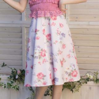 リズリサ(LIZ LISA)のヴィンテージフラワー柄スカート LIZ LISA  新品 未使用 送料込み(ロングスカート)