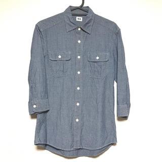 ユニクロ(UNIQLO)のUNIQLO 七分袖 メンズ カジュアルシャツ(シャツ)