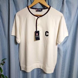 ラルフローレン(Ralph Lauren)の未使用❇️RALPH LAUREN ヘンリーネック 半袖スウェット(Tシャツ/カットソー(半袖/袖なし))