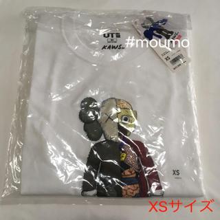 ユニクロ(UNIQLO)の⚫️値下不可⚫️メンズ UNIQLO KAWS Tシャツ ホワイト(Tシャツ/カットソー(半袖/袖なし))