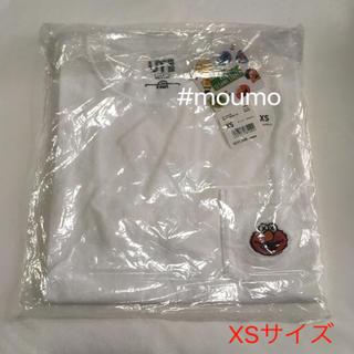 ユニクロ(UNIQLO)の⚫️値下不可⚫️メンズ UNIQLO KAWS ELMO  Tシャツ ホワイト(Tシャツ/カットソー(半袖/袖なし))