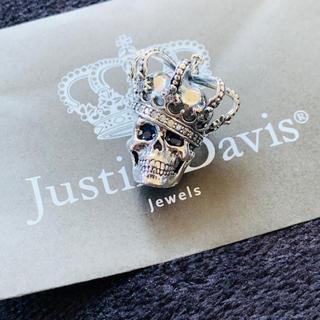 ジャスティンデイビス(Justin Davis)の新品◆JUSTIN DAVIS◆ダイヤスカルペンダント◆定価70,200円◆(ネックレス)