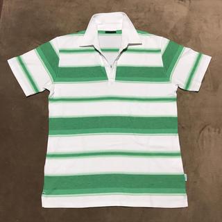 スキッパーTシャツ【メンズ.L】(Tシャツ/カットソー(半袖/袖なし))