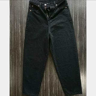 エンフォルド(ENFOLD)のナゴンスタンス nagonstans 28080円ブラック デニム 40 パンツ(デニム/ジーンズ)