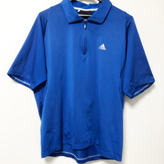adidas - adidas golf / アディダス ゴルフ ブルーシャツ
