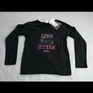 アディダス(adidas)の【新品】アディダス 長袖Tシャツ JAZ12  Sサイズ  ブラック(Tシャツ(長袖/七分))