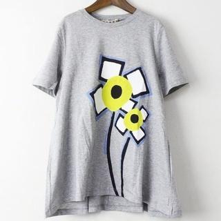 マルニ(Marni)の新品未使用 マルニ プリントTシャツ グレー (Tシャツ(半袖/袖なし))