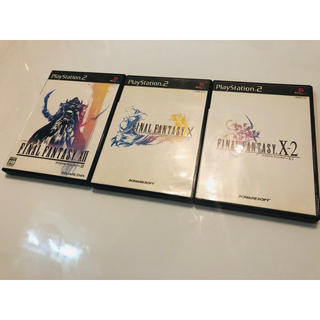 PlayStation2 - お得(*'▽'*)♪ファイナルファンタジー Ⅹ  Ⅹ-Ⅱ  ⅩⅡ セット