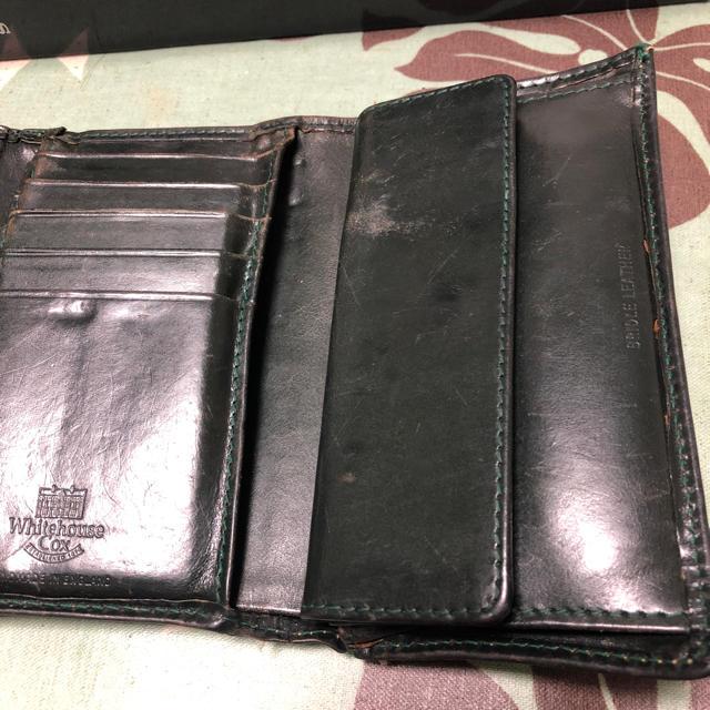 WHITEHOUSE COX(ホワイトハウスコックス)のwhite house cox メンズのファッション小物(折り財布)の商品写真