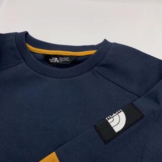 ザノースフェイス(THE NORTH FACE)の新品 THE NORTH FACE ロゴスウェット 正規 パーカー Tシャツ L(スウェット)