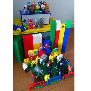 アンパンマン(アンパンマン)のレゴ デュプロ 楽しいどうぶつえん アンパンマン ブロックラボ ドール セット(積み木/ブロック)