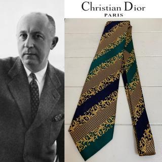 ディオールオム(DIOR HOMME)のChristian Dior PARIS VINTAGE フランス製 ネクタイ(ネクタイ)