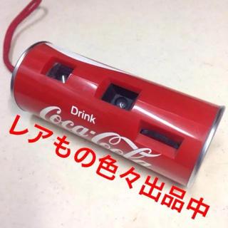コカコーラ(コカ・コーラ)のレア★コカコーラの缶型カメラ(ノベルティグッズ)
