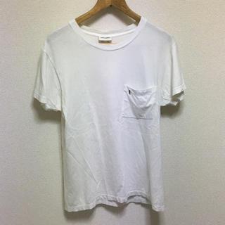 サンローラン(Saint Laurent)の国内正規品 サンローランパリ YSLロゴ ポケット Tシャツ(Tシャツ/カットソー(半袖/袖なし))
