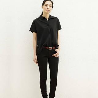ユニクロ(UNIQLO)のUNIQLO、オーバーサイズ、スキッパーポロシャツ(ポロシャツ)
