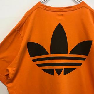 アディダス(adidas)のアディダス Tシャツ adidas ビッグ ロゴ ビンテージ 90s 古着(Tシャツ/カットソー(半袖/袖なし))