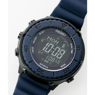 6db8bf8418 セイコー(SEIKO)のナノ・ユニバース 別注 限定 Prospex ネイビー(腕時計(デジタル