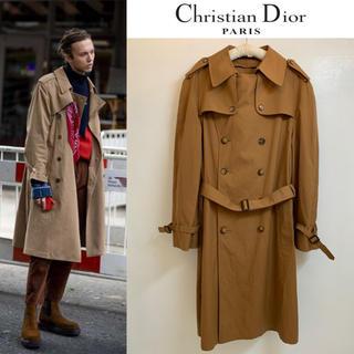 DIOR HOMME - Christian Dior PARIS VINTAGE USA トレンチコート
