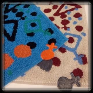 ヴィヴィアンウエストウッド(Vivienne Westwood)の⑩ 新品 ヴィヴィアン Vivienne タオル ハンカチ 2枚 オーブ ☆(ハンカチ)