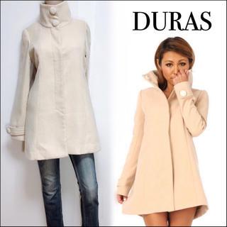 DURAS - DURAS パールボタンスタンドコート♡ロイヤルパーティー rienda
