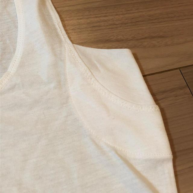 MUJI (無印良品)(ムジルシリョウヒン)の無印良品 涼感 タンクトップ レディースの下着/アンダーウェア(アンダーシャツ/防寒インナー)の商品写真