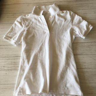 ユニクロ(UNIQLO)のポロシャツ  ユニクロ UNIQLO 白 ホワイト(ポロシャツ)