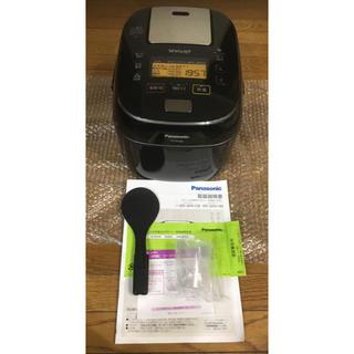 パナソニック(Panasonic)のパナソニック 5.5合 炊飯器 圧力IH式 Wおどり炊き SR-SPA108-K(炊飯器)