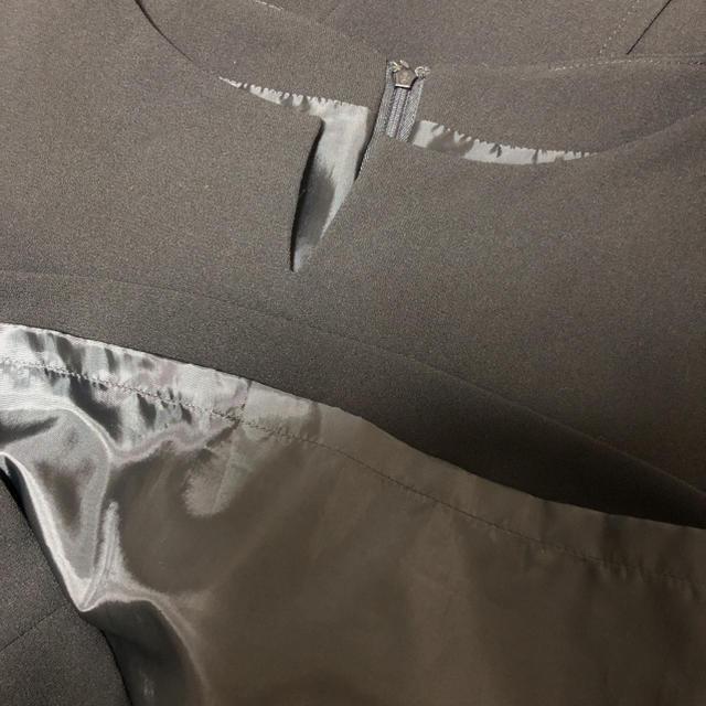 ブラックフォーマル ワンピース レディースのフォーマル/ドレス(礼服/喪服)の商品写真