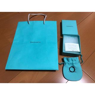 ティファニー(Tiffany & Co.)のティファニーのチタンリング 15号(リング(指輪))