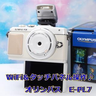 OLYMPUS - 【新品級】WiFi機能搭載♪タッチパネル操作で簡単!E-PL7☆