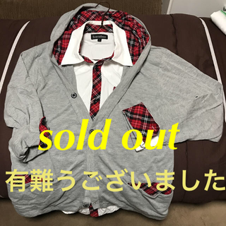 重ね着風  ロンT   【メンズ ,L 】(Tシャツ/カットソー(七分/長袖))